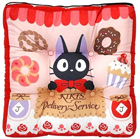 Cushion - 30x30cm - Chair - Rubber Band - Jiji - Kiki's Delivery Service - Ghibli - 2014 (new)