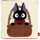 Cushion Cover - 45x45cm - Chenille Embroidery - Jiji - Kiki's Delivery Serivice - Ghibli -2014 (new)