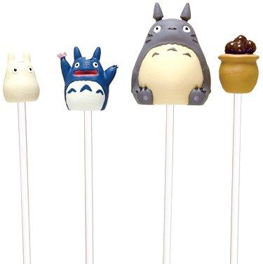 4 Pick Set - Sho & Chu & Totoro & Acorn in Pot - Totoro - Ghibli - 2016 (new)