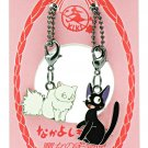 Chain Strap Holder & Hook -Both Side- Jiji Lily - Kiki's Delivery Service - Ghibli 2007-no production (new)