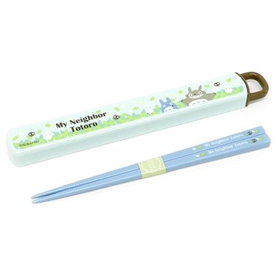 Chopsticks in Case - 18cm - made in Japan - Totoro - Ghibli - 2015 (new)