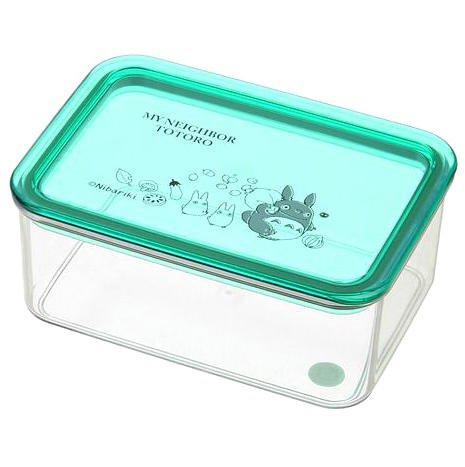 lunch bento box tupperware 440ml transparent made in japan totoro ghibli 2016 new. Black Bedroom Furniture Sets. Home Design Ideas
