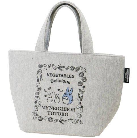 Lunch Bento Bag - Sweat Fabric - Hygroscopic Stretchable - Zipper - Totoro - Ghibli - 2015 (new)