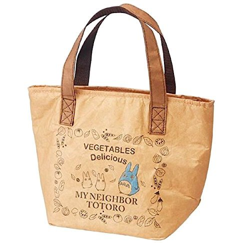 Lunch Tote Bag - Thermal - Aluminum Deposited Film - Wax Paper Style - Totoro - Ghibli - 2015 (new)