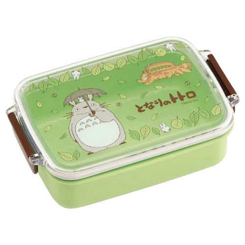 Bento Lunch Box - 450ml - 2 Lock - microwave & dishwasher - made Japan - Totoro - Ghibli -2013 (new)