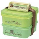 2 Tier Lunch Bento Box - Picnic 3050ml - 2 Container & 4 Plate & Belt - Totoro - Ghibli - 2013 (new)