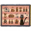 Cover / Carpet Rug - 140x190cm - Gobelin Tapestry - Jiji - Kiki's Delivery Service - 2015 (new)