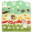 Hand Towel - 34x36cm - Applique & Embroidery - Mushroom - Totoro - Ghibli - 2016 (new)