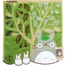 Hand Towel - 34x36cm - Fur Applique - Tree - Totoro - Ghibli - 2015 - no production (new)