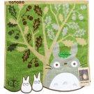 Hand Towel - 34x36cm - Fur Applique - Tree - Totoro - Ghibli - 2015 - no production (new)