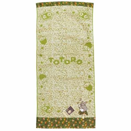 Face Towel - 34x80cm - Jacquard Weaving - Applique - Ocarina - Totoro - 2015 - no production (new)
