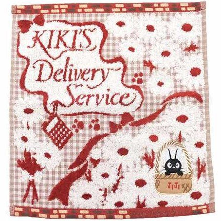Hand Towel - 34x36cm - Applique & Embroidery - Bouquet - Kiki's Delivery Service - 2016 (new)
