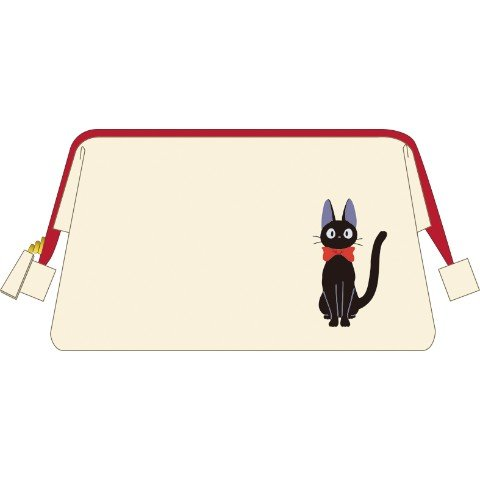 Pouch Bag - 18x12cm - Cloth - Embroidery - Jiji - Kiki's Delivery Service - Ghibli - 2016 (new)