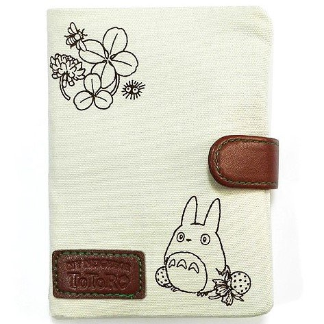 Pocket Tissue Case & Mirror & Pocket - 13x20cm - Cloth - Totoro - Ghibli - 2016 (new)