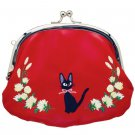 Purse - Double Gamaguchi - Embroidery - Jiji - Kiki's Delivery Service - Ghibli - 2016 (new)