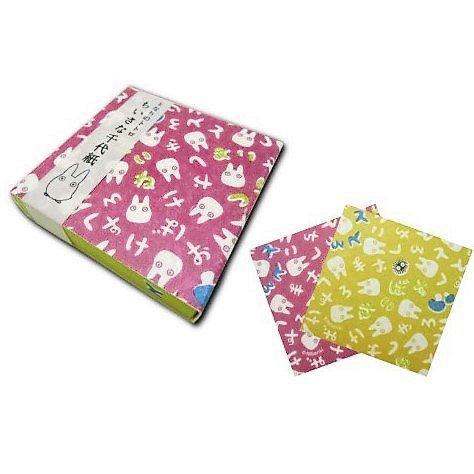 Origami Folding Paper 60 Sheet - 2 design x 30 sheet 6x6cm Hiragana - Sho Totoro 2016 no production