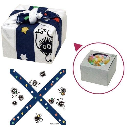 Star Candy / Conpeito & Handkerchief - made in Japan - Susuwatari - Spirited Away - 2016 (new)