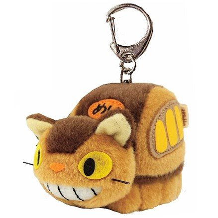 Keyholder - Mascot Plush Doll - Fluffy - Nekobus - Totoro - Ghibli - Sun Arrow - 2016