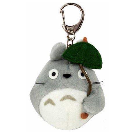 Keyholder - Mascot Plush Doll - Fluffy - Totoro holding Umbrella - Ghibli - Sun Arrow - 2016 (new)