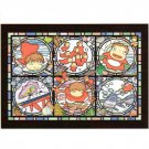 Jigsaw Puzzle - 208 pieces - Art Crystal like Stained Glass - NO Glue - Ponyo - Ghibli - 2016 (new)