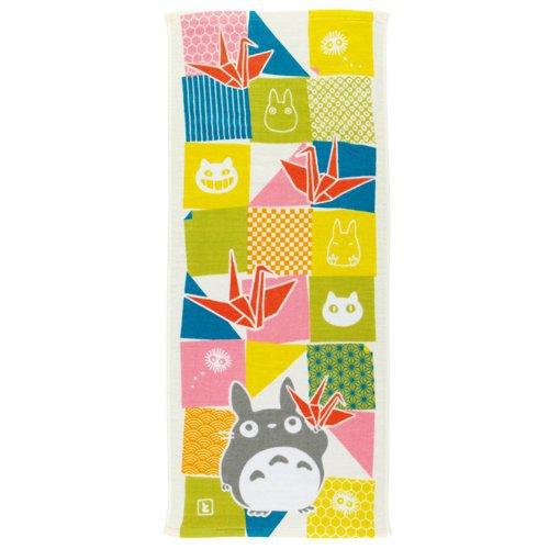 Face Towel - 34x80cm - origami - made in Japan - Imabari - Totoro - Ghibli - 2016 (new)