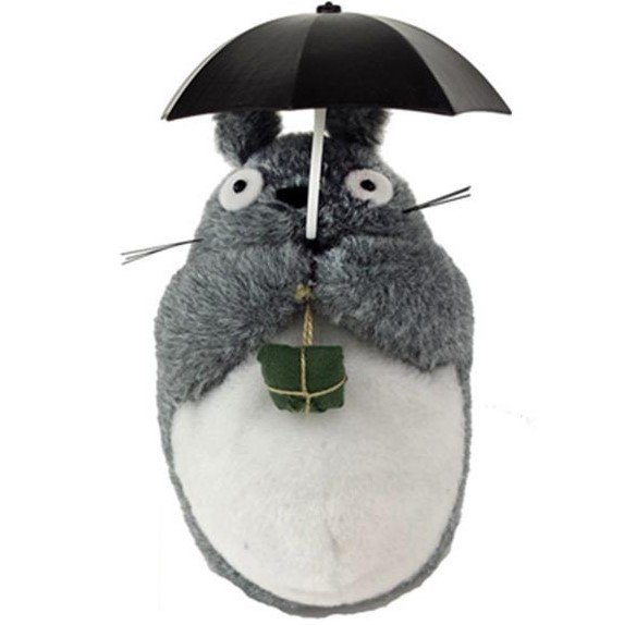 Plush Doll - H18cm - Reacts to Sound and Move Up and Down - Totoro - Ghibli - Sun Arrow - 2016 (new)