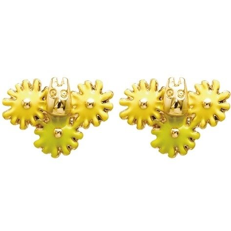 Pierced Earrings - Zinc Alloy - Flower - Sho Totoro - Ghibli - 2016 (new)