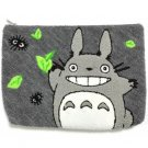 Pouch Bag - 19x26cm - Japanese Sagara Embroidery - Leaf - Totoro - Ghibli - Sun Arrow - 2016 (new)