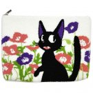 Pouch Bag 19x26 Japanese Sagara Embroidery -Flower Jiji Kiki's Delivery Service -Sun Arrow 2016(new)