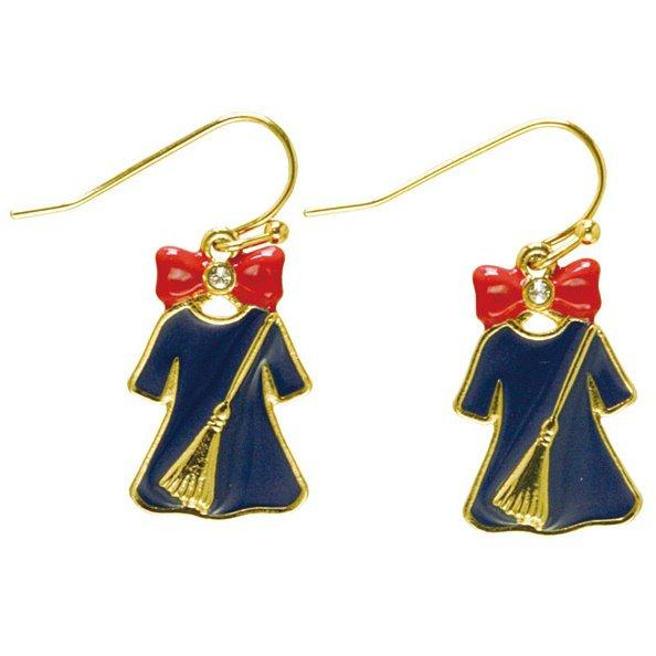 Pierced Earrings - Zinc Alloy - Kiki's Dress & Broom - Kiki's Delivery Service - 2016 (new)