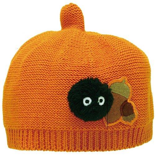 Hat - Baby - Cotton - Orange - Acorn Top Shape - Acorn & Kurosuke - Totoro - 2016 (new)
