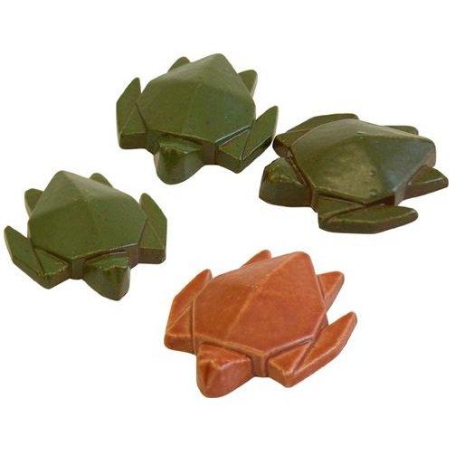 Chopsticks Holder 4 Turtle - Pottery Shigaraki- Made Japan - Red Turtle / La Tortue Rouge 2016 (new)