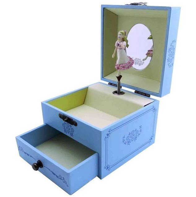 Music Box - Marnie Turns Around - Drawer Mirror - When Marnie Was There - 2014 (new)