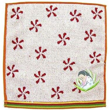 Mini Towel - 25 x 25cm - Applique - Tale of Princess KAGUYA - 2013 - no production (new)