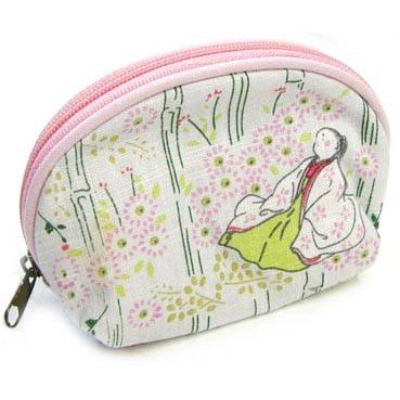 Pouch - Hemp & Cotton - Tale of Princess KAGUYA - 2013 - no production (new)