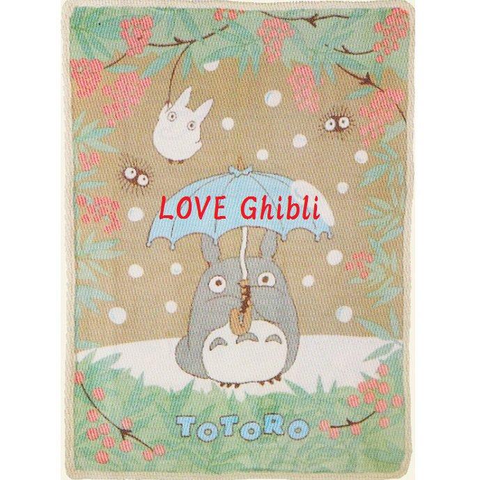 Blanket (L) - 140x200cm - Microfiber - Micro Sheep Boa - Totoro - Ghibli - 2016 (new)