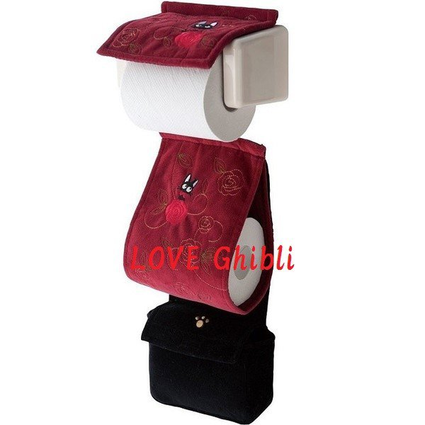 Toilet Paper Holder Cover - Bag - Applique & Embroidery - Jiji - Kiki's Delivery Service 2016 (new)