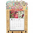 Monthly Calendar 2017 - Cuttings Curving Stained Glass Frame - Spirited Away - Ghibli - 2016 (new)
