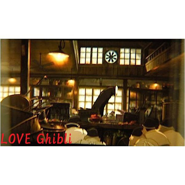 1 left- Bookmarker - Movie Film #18 -6 Frame- Kaonashi No Face - Spirited Away - Ghibli Museum (new)