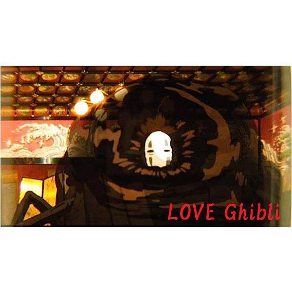 1 left- Bookmarker - Movie Film #27 -6 Frame- Kaonashi No Face - Spirited Away - Ghibli Museum (new)