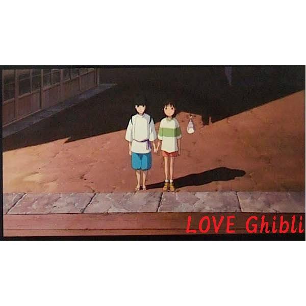 1left- Bookmarker -Movie Film #36- 6 Frame- Sen Haku Bounezumi - Spirited Away - Ghibli Museum (new)