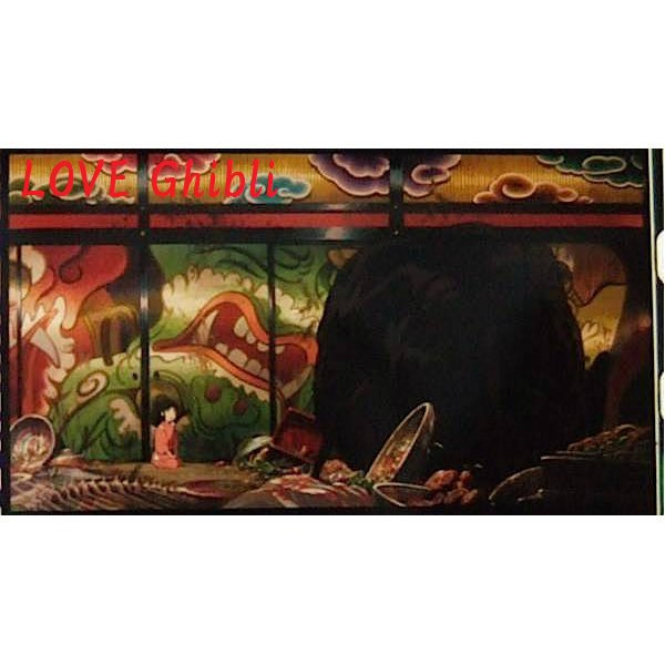 1 left- Bookmarker - Movie Film #39- 6 Frame - Sen & Kaonashi - Spirited Away - Ghibli Museum (new)
