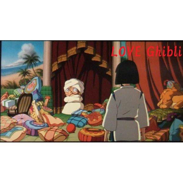 1 left- Bookmarker - Movie Film #40 - 6 Frame - Yubaba & Haku - Spirited Away - Ghibli Museum (new)