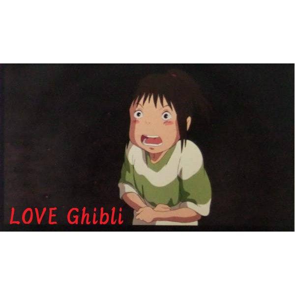 1 left - Bookmarker - Movie Film #42 - 6 Frame - Sen - Spirited Away - Ghibli Museum (new)