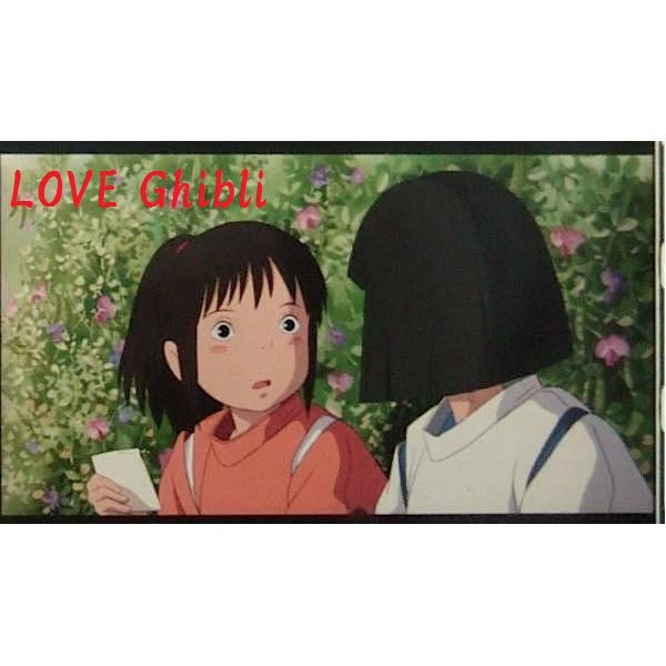 1 left - Bookmarker - Movie Film #45 - 6 Frame - Sen & Haku - Spirited Away - Ghibli Museum (new)