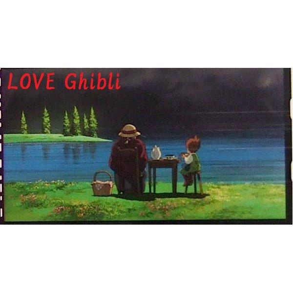 1left- Bookmarker - Movie Film #14- 6 Frame- Old Sophie & Markl - Howl's Moving - Ghibli Museum(new)