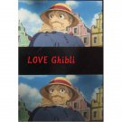 1 left - Bookmarker - Movie Film #16 - 6 Frame - Old Sophie - Howl's Moving - Ghibli Museum (new)
