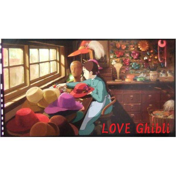 1 left - Bookmarker - Movie Film #44 - 6 Frame - Sophie - Howl's Moving - Ghibli Museum (new)
