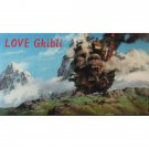 1 left - Bookmarker - Movie Film #58 - 6 Frame - Castle - Howl's Moving Castle - Ghibli Museum (new)