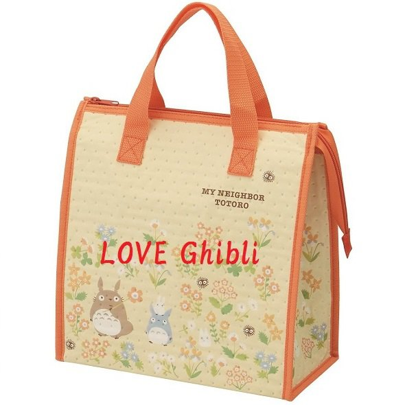 Lunch Bento Bag - Nonwoven Fabric - Aluminum Deposited Film - Thermal - Flower - Totoro - 2016 (new)